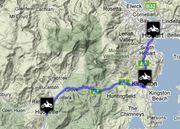 TAS - Hobart to Huonville