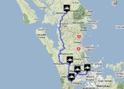 Auckland to Wellsford